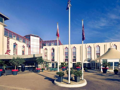 Mercure Rouen Champ de Mars : Hotel near Franqueville-Saint-Pierre