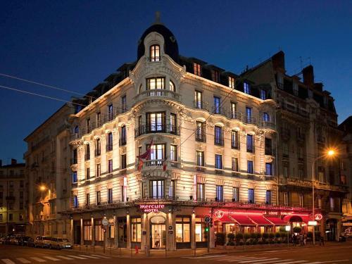 Mercure Lyon Centre Brotteaux : Hotel near Villeurbanne