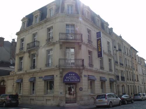 Brit Hotel Aux Sacres Reims Centre : Hotel near Tagnon