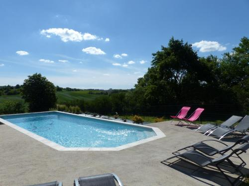 Gites Souleilla de la Nine : Guest accommodation near Montesquieu-Volvestre
