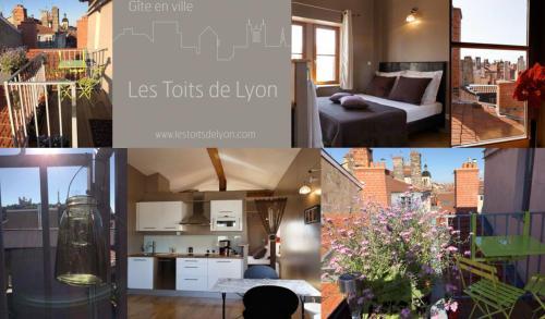 Les Toits de Lyon : Apartment near Lyon 1er Arrondissement