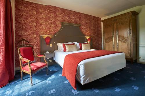 Chateau d'Audrieu : Hotel near Fontenay-le-Pesnel