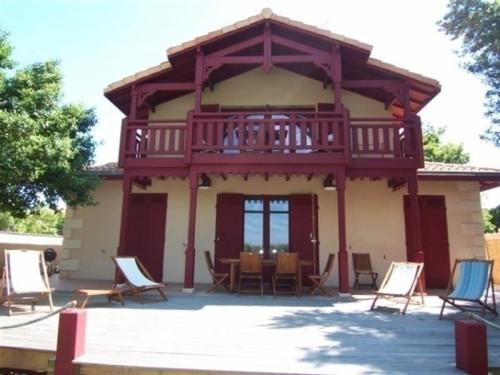 House Premiere ligne avec vue mer : Guest accommodation near Arcachon
