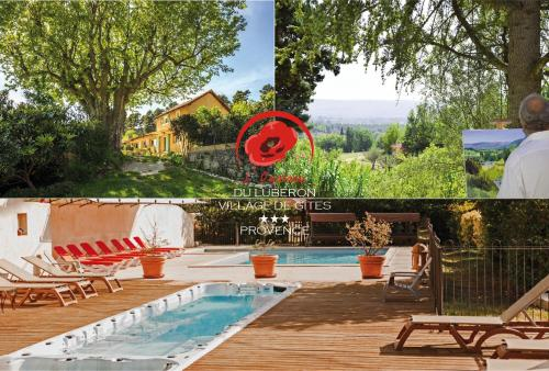 L'Oustaou du Luberon et SPA : Guest accommodation near Villelaure
