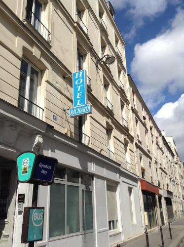 Hôtel Richard : Hotel near Paris 11e Arrondissement