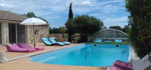 Domaine Delagarde : Guest accommodation near Vinassan