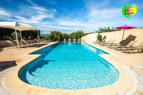 Gites Mas de la Bastide : Guest accommodation near Saint-Genest-de-Beauzon