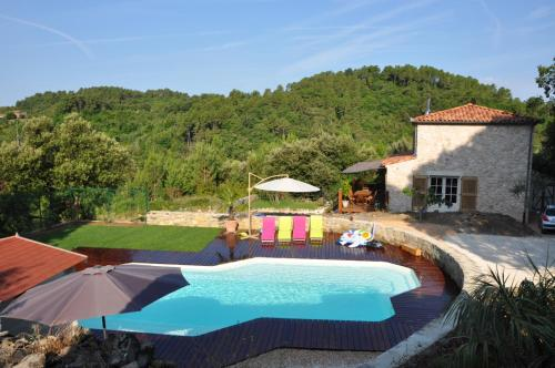 Les Bons Vivants Cévenols : Guest accommodation near Tornac