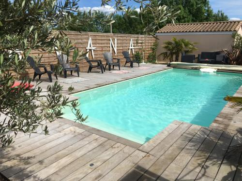 Cosy Studio : Bed and Breakfast near Migné-Auxances