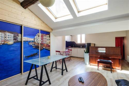 Loft in Lyon downtown : Apartment near Lyon 2e Arrondissement