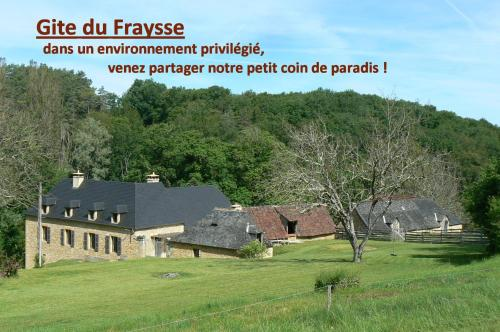 gite du fraysse : Guest accommodation near Auriac-du-Périgord
