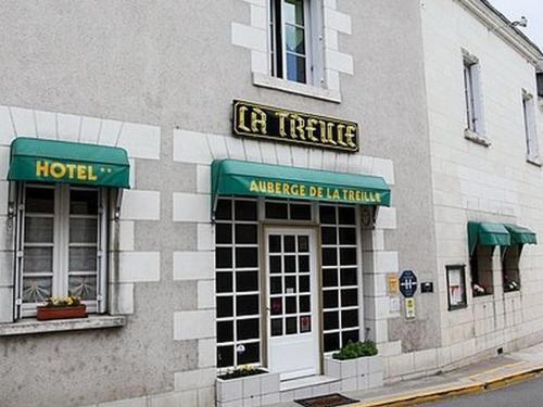 Auberge de la Treille : Hotel near Saint-Martin-le-Beau