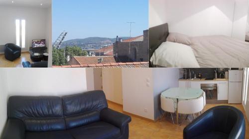 Appartement cœur de ville, calme avec vue : Apartment near Sète