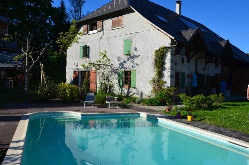 Chambres d'hôtes L'Orée Des Bornes : Guest accommodation near Aviernoz