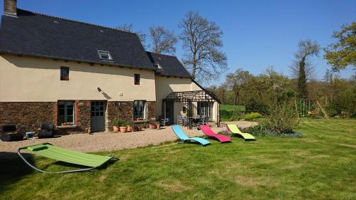 Au petit bonheur : Guest accommodation near Plouasne