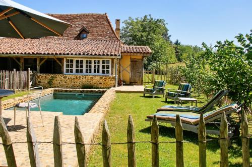 Country House quartier d'Afrique : Guest accommodation near Bonnegarde