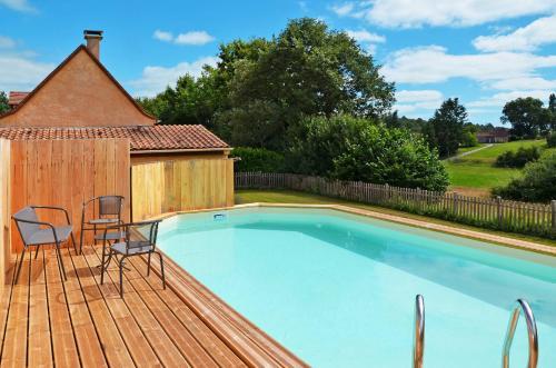 Ferienhaus Saint Julien-de-Crempse 101S : Guest accommodation near Campsegret