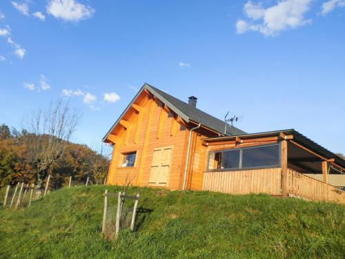 Chalet Combes : Guest accommodation near Saint-Côme-d'Olt