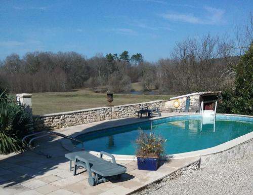 Holiday home Bosset : Guest accommodation near Fraisse