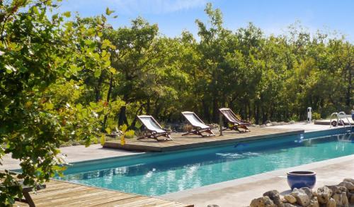 –Holiday home Les Hautes Plaines : Guest accommodation near Saint-Étienne-les-Orgues