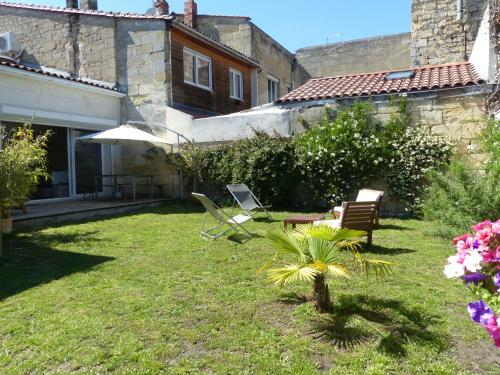 Bordeaux Belle Echoppe Jardin : Guest accommodation near Talence