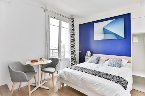 Studio Edgar Quinet : Apartment near Neuilly-Plaisance
