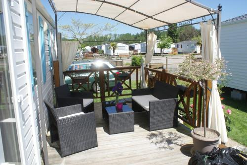 Mobil Home : Guest accommodation near Cérences
