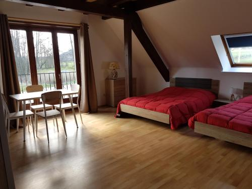 camping Au pays de Hanau : Guest accommodation near Littenheim