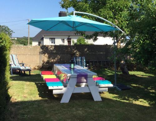Grande Maison 4 à 8 pers proche RIA d'Etel : Guest accommodation near Sainte-Hélène