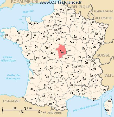 map department Cher