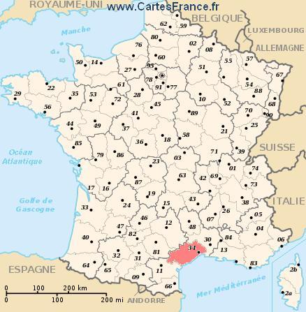 map department Hérault
