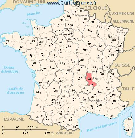 map department Loire