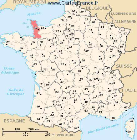 map department Manche