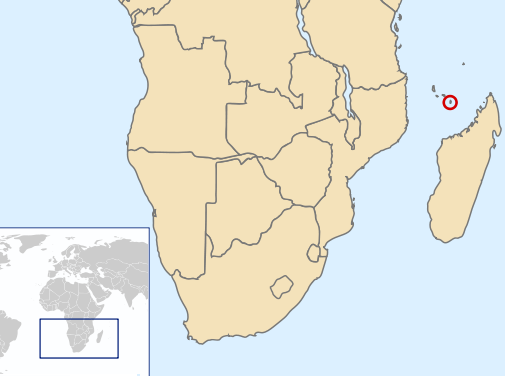map region Mayotte