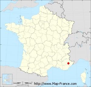 Small administrative base map of Ubraye