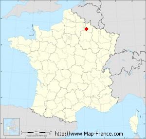 Small administrative base map of Sault-lès-Rethel