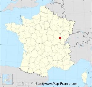 Small administrative base map of Franxault