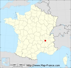 Small administrative base map of Lapeyrouse-Mornay