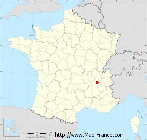 Small administrative base map of Bizonnes