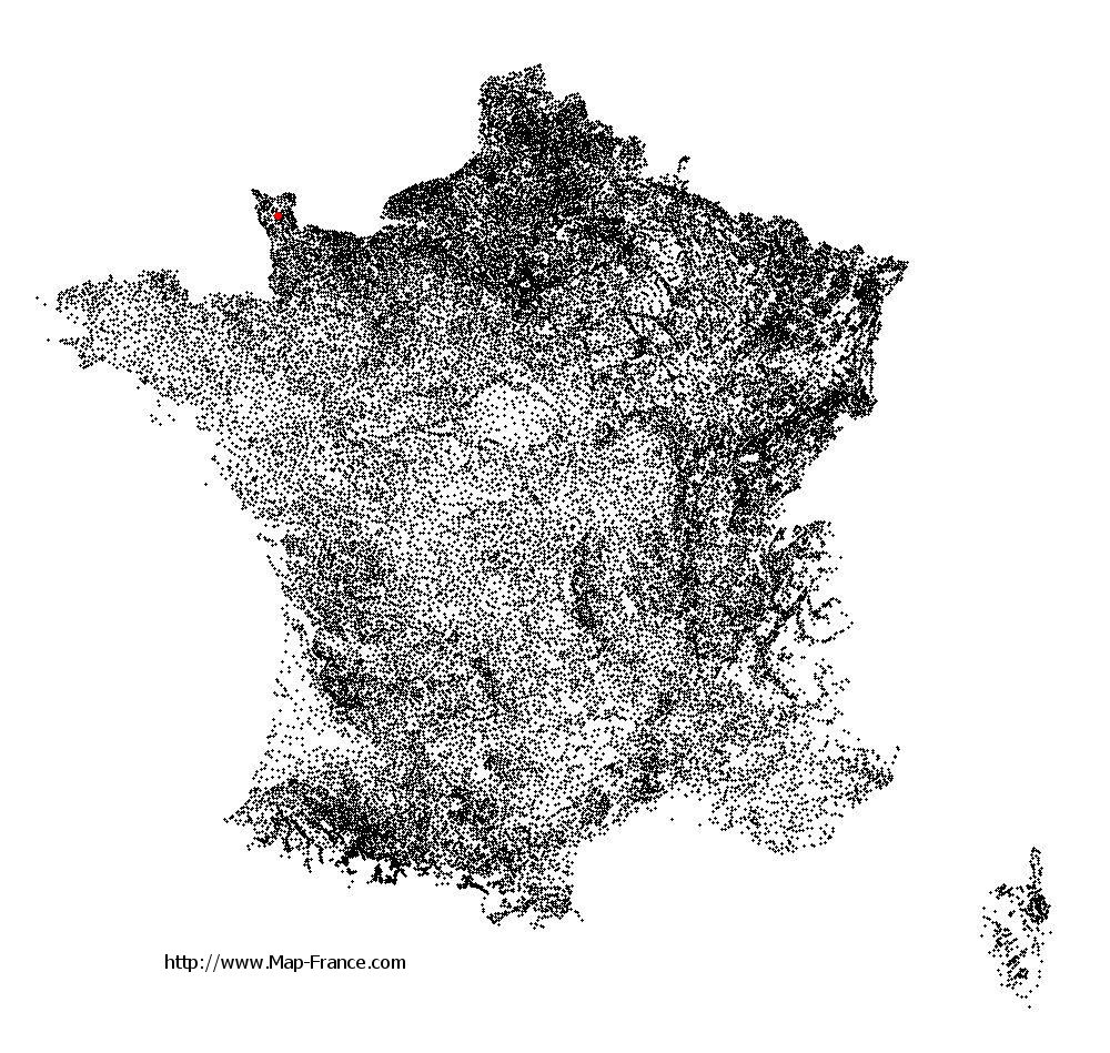 Morville on the municipalities map of France