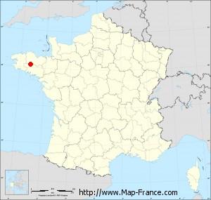 Small administrative base map of Silfiac