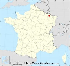 Small administrative base map of Saint-Julien-lès-Metz