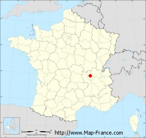 Small administrative base map of Civrieux-d'Azergues